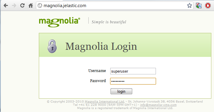 connect magnolia cms