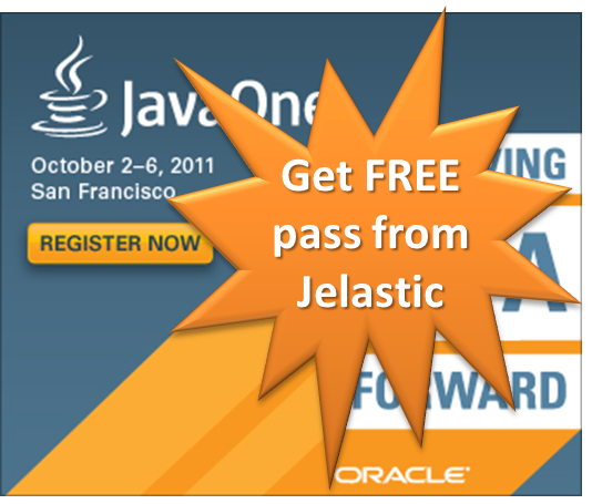 Get FREE JavaOne 2011 Conference pass from Jelastic