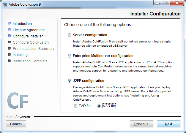 host coldfusion