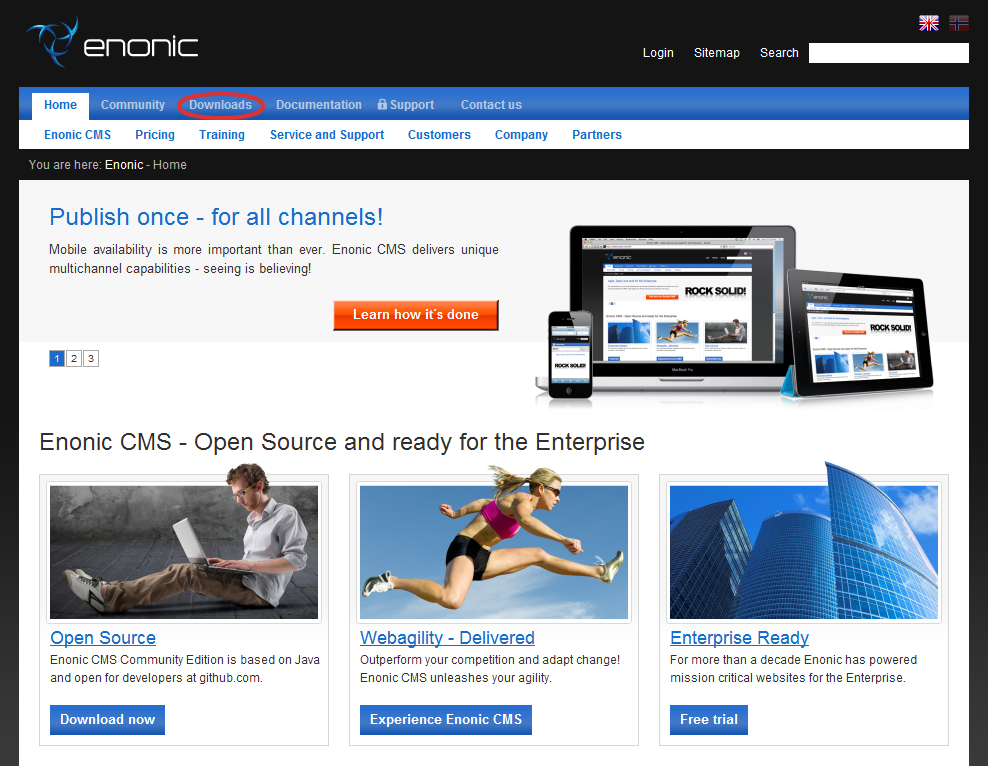 How to deploy Enonic CMS to Jelastic cloud
