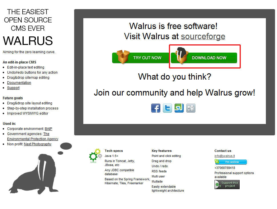 How to Deploy Walrus CMS to Jelastic Cloud