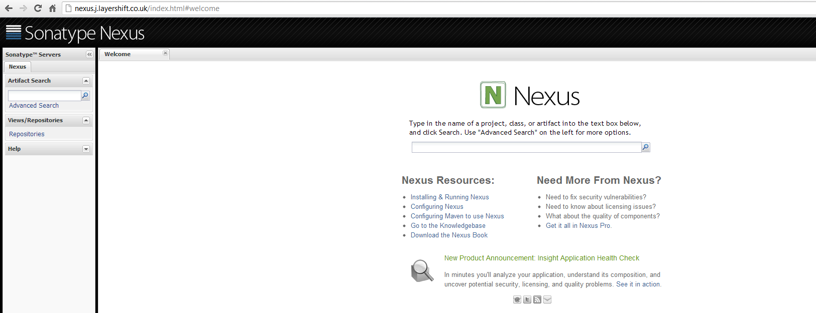 How to Deploy Nexus Repository Manager to the Cloud