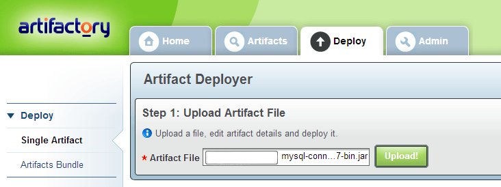 artifactory-upload-artifact