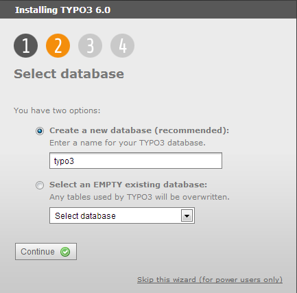 typo3_new_database