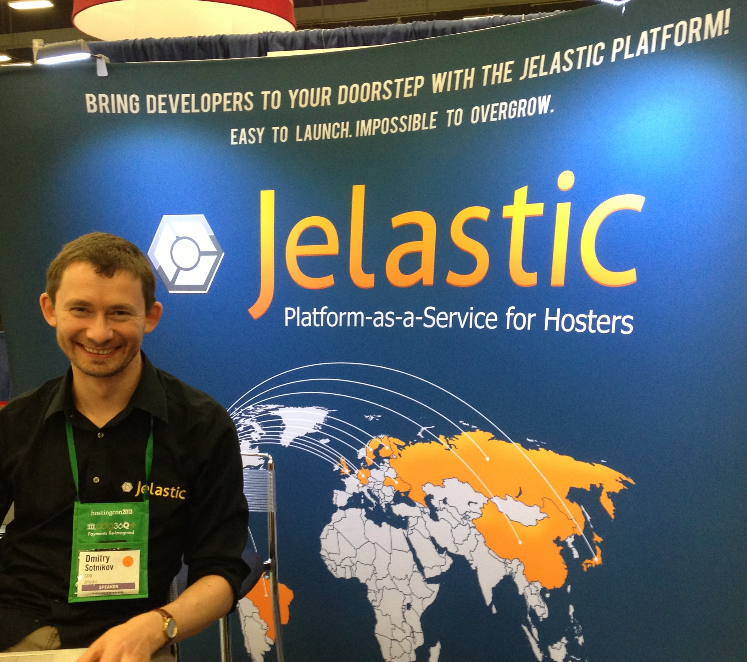Dmitry from Jelastic at HostingCon 2013