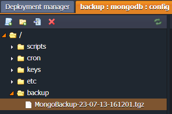 MongoDB Checking Backups