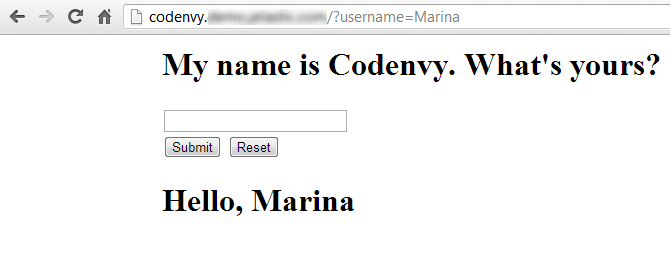 Codenvy HelloWorld