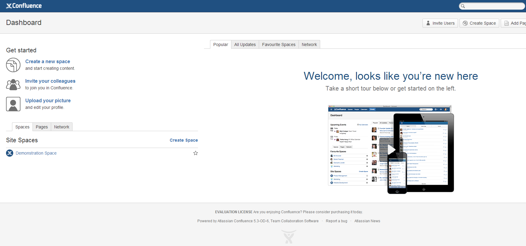 Confluence Cluster Dashboard