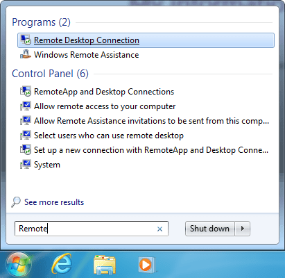 windows rdp client