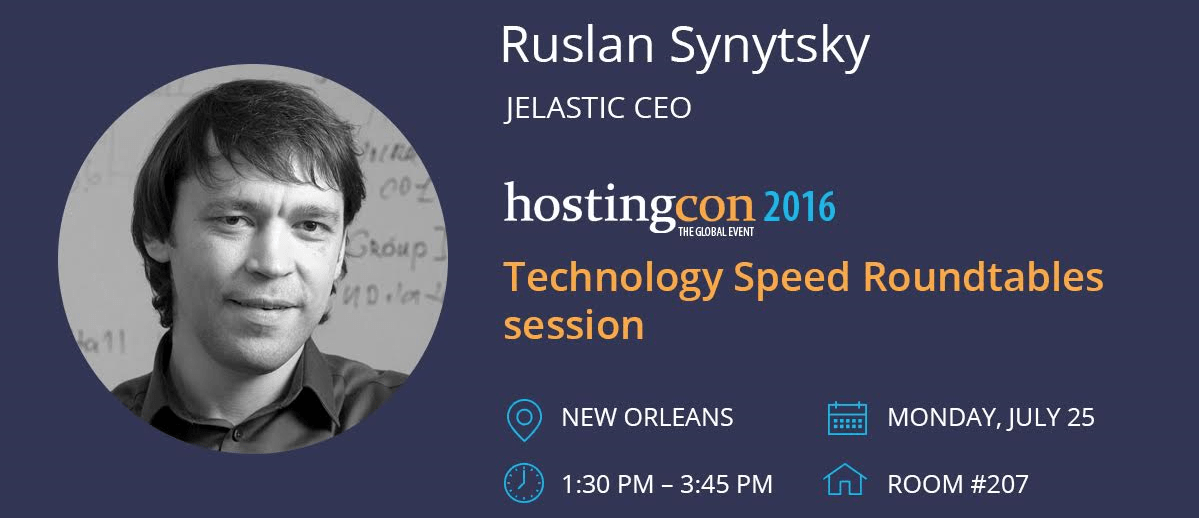 Ruslan Synytsky at HostingCon