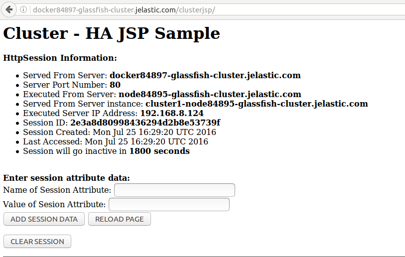 open HAproxy in browser