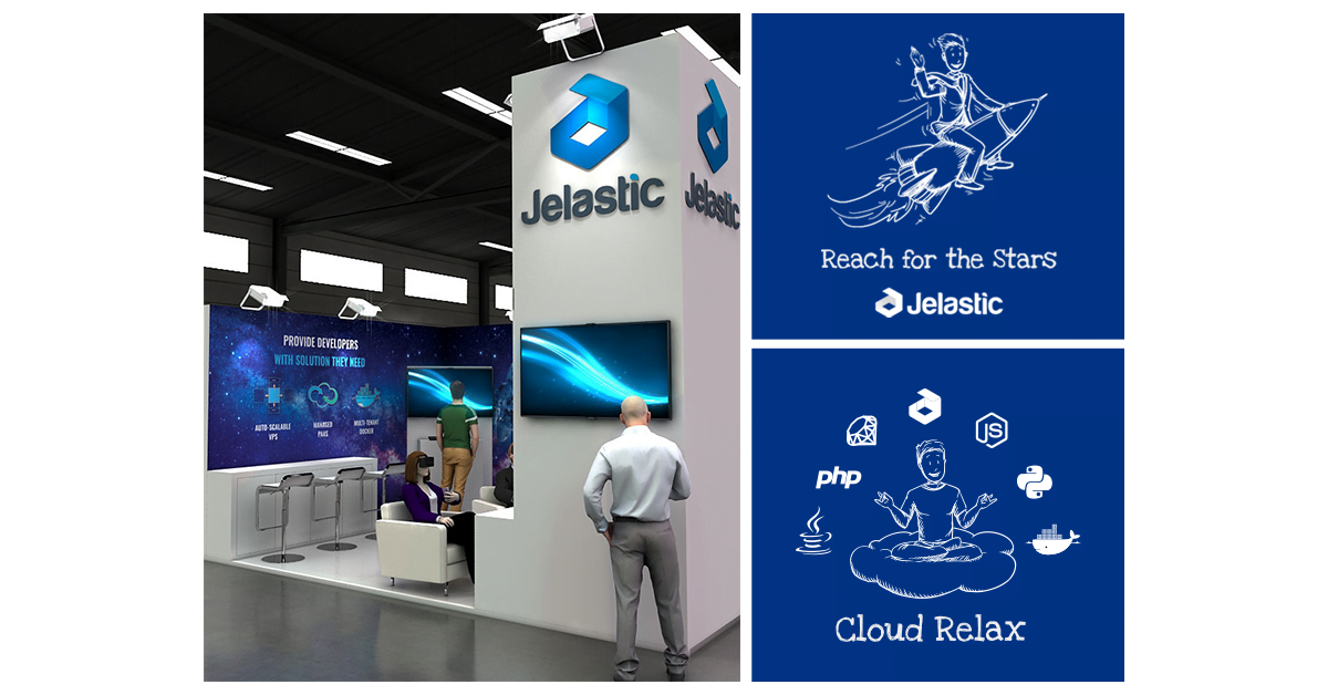 Jelastic WHD.global booth Z31