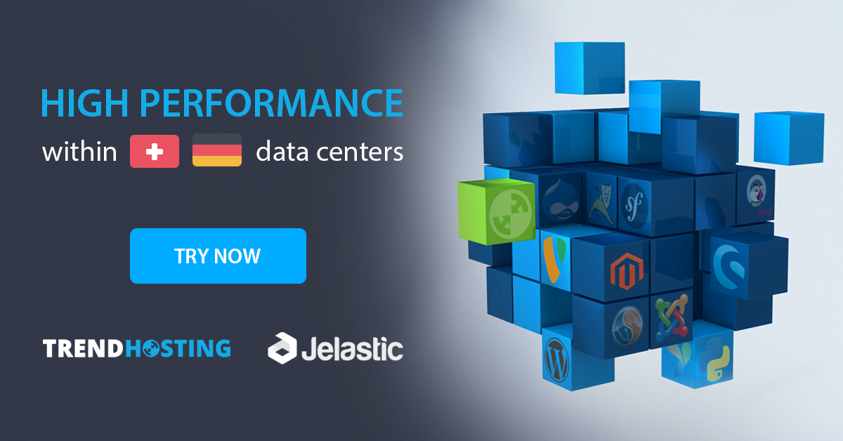 Trendhosting powered by Jelastic