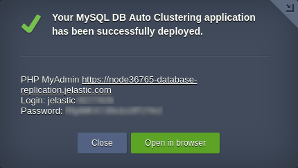 MySQL database replication