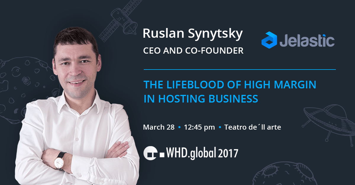 Ruslan Synytsky speech at WHD.global