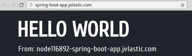 spring boot custom port