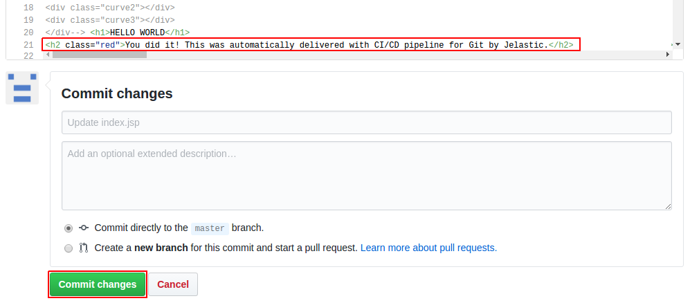 github continuous deployment