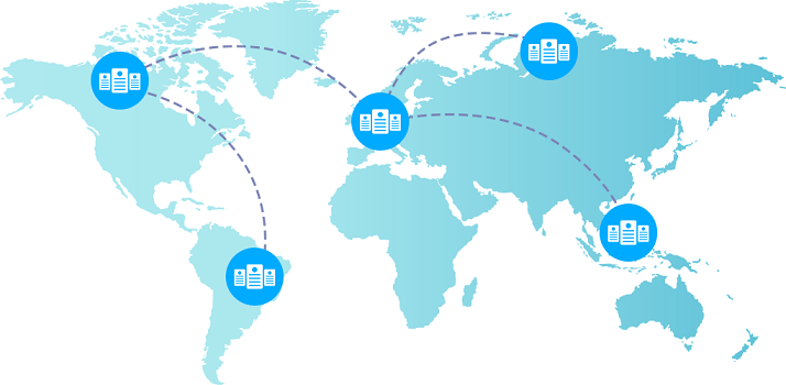 offer several data center regions in different locations