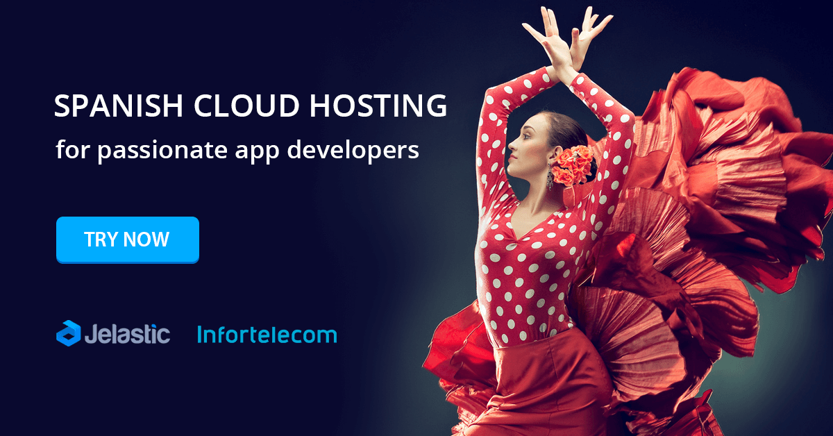 spanish cloud hosting vendor paas platform