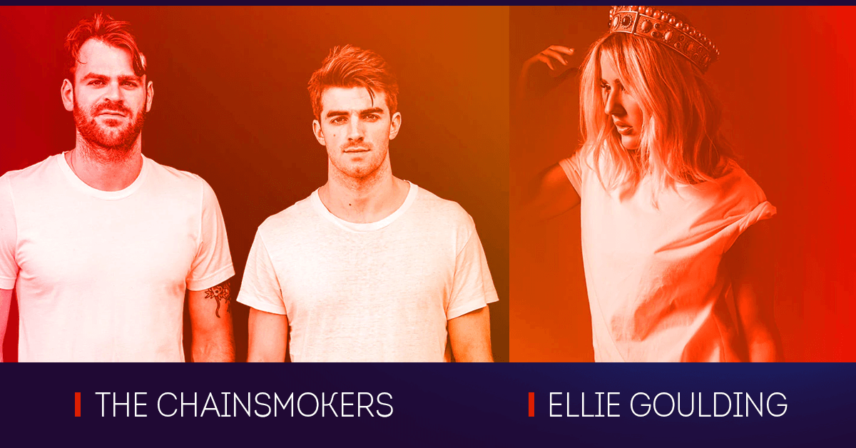 the chainsmokers ellie goulding JavaOne 2017