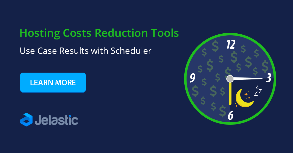 hosting costs reduction tools