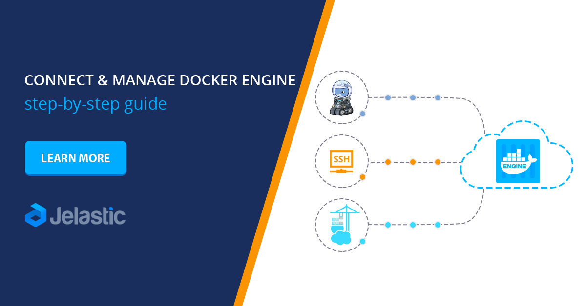 connect and manage docker engine