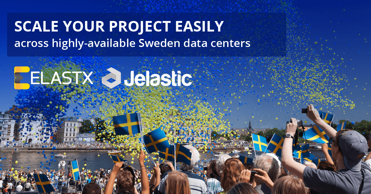 paas on top of swedish infrastructure service provider