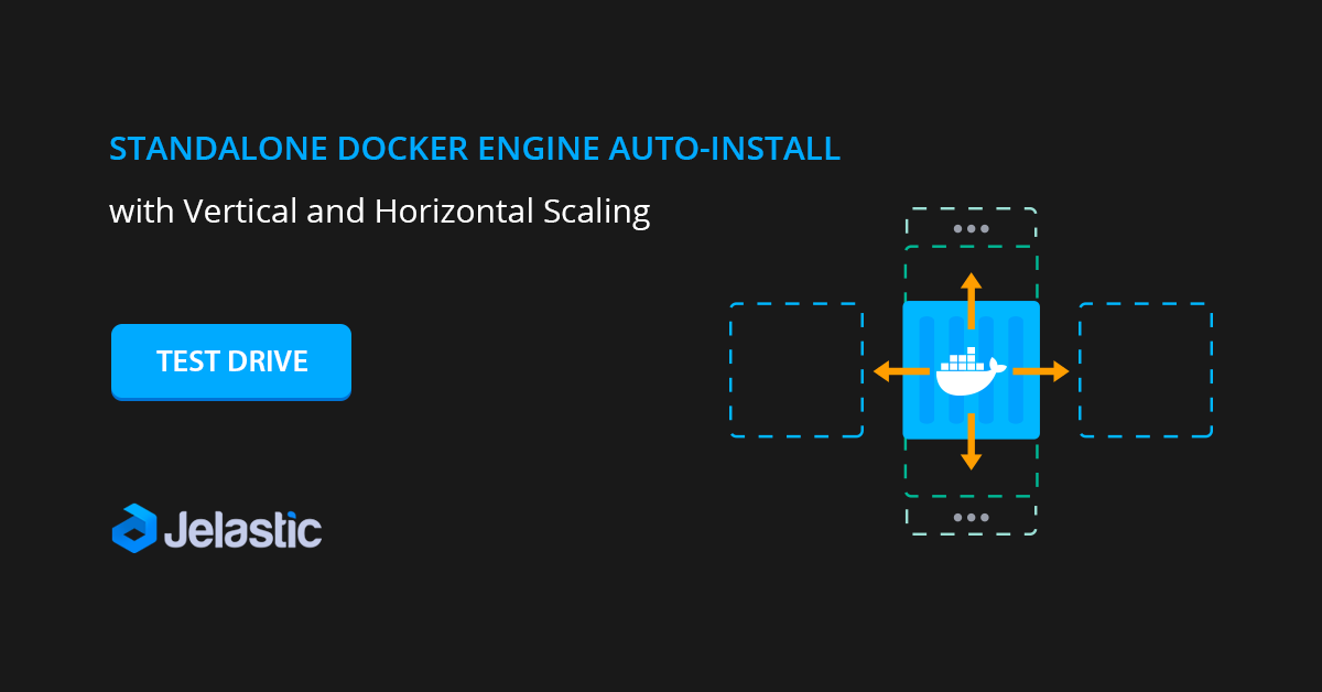 docker engine install vertical horizontal scaling
