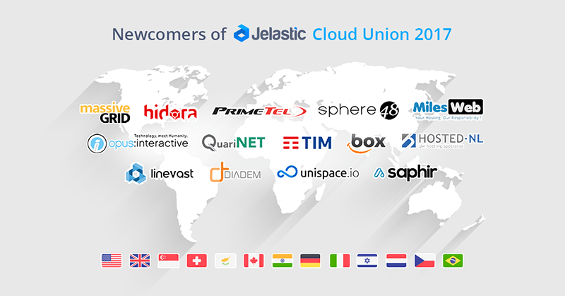 Jelastic cloud hosting map coverage