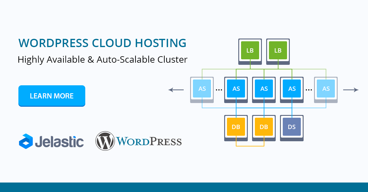 wordpress cluster hosting