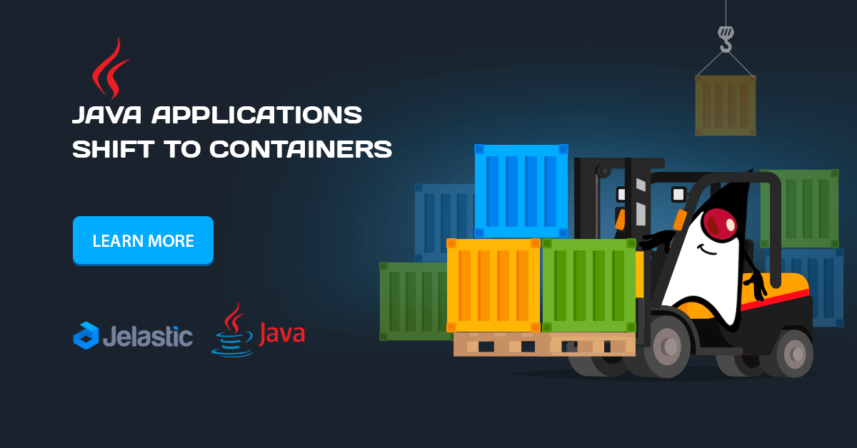 java applications migration to containers