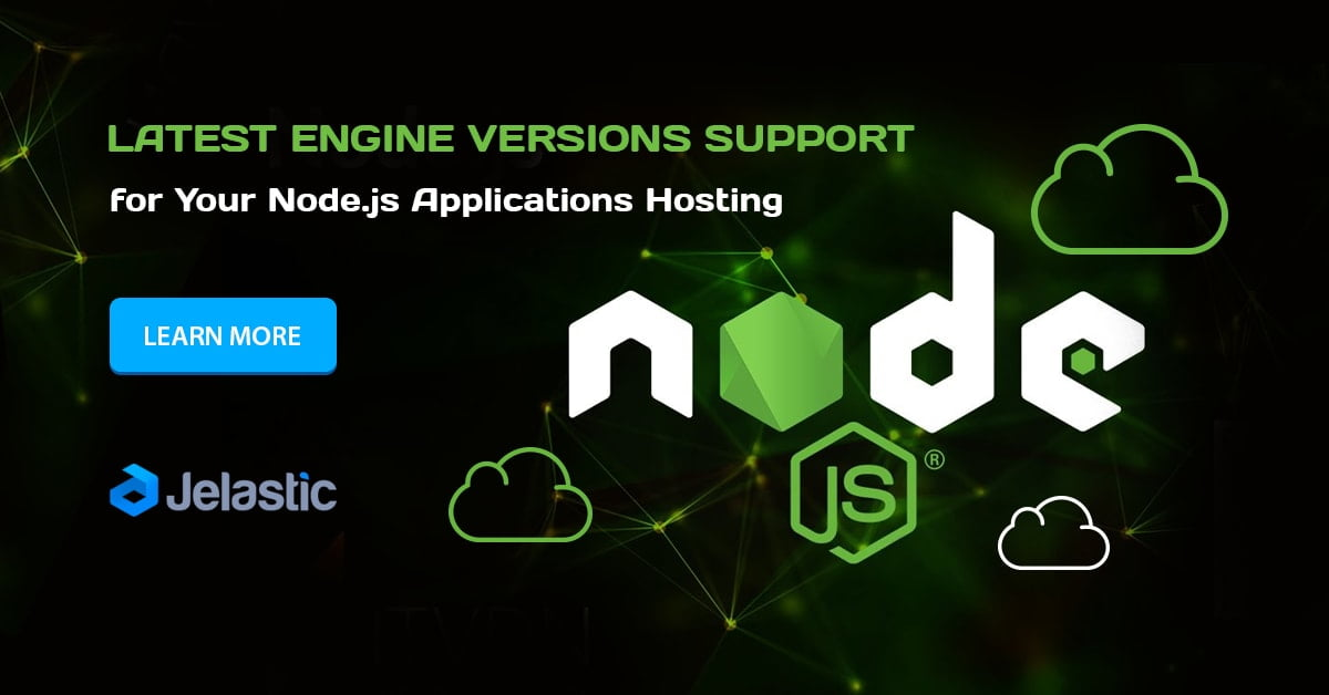Node js Hosting in Containers: Latest Versions Support at