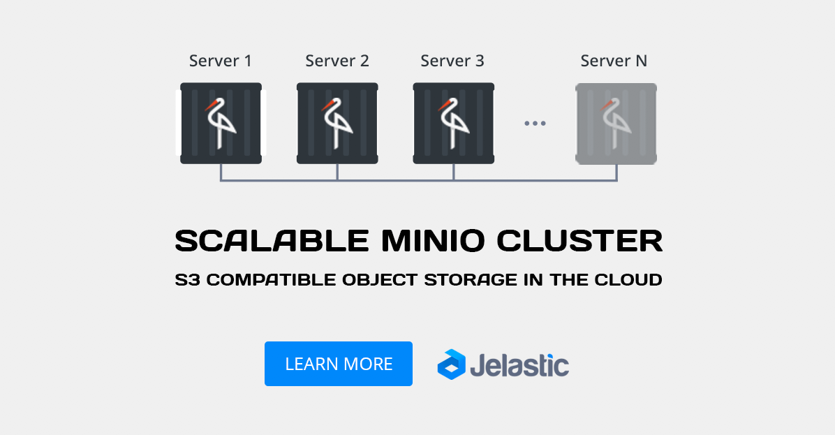 scalable minio cluster s3 compatible object storage
