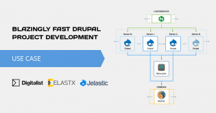 50% Reduction in Build Times of Drupal Project. Blazingly Fast Digitalist Use Case