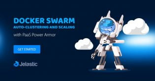 Docker Swarm Auto-Clustering and Scaling with PaaS Power Armor