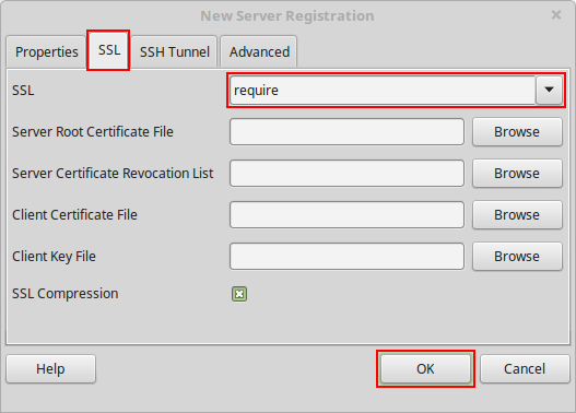 Establish Secure SSL Connection to PostgreSQL Database Server