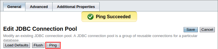 configure jdbc connection pool