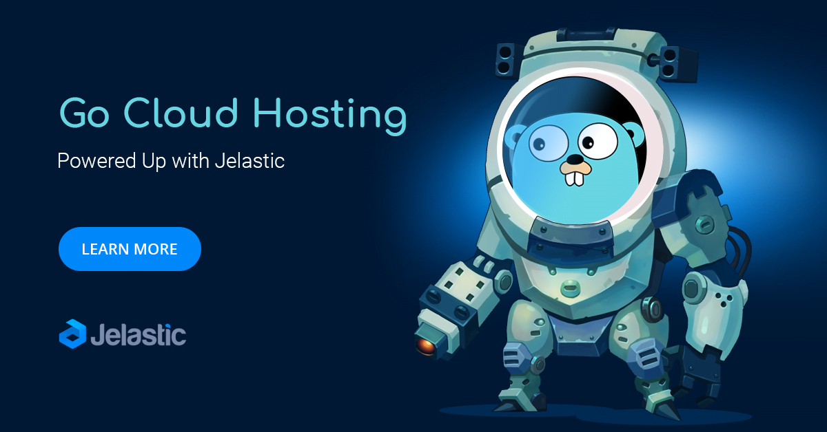 Golang Hosting from Jelastic PaaS