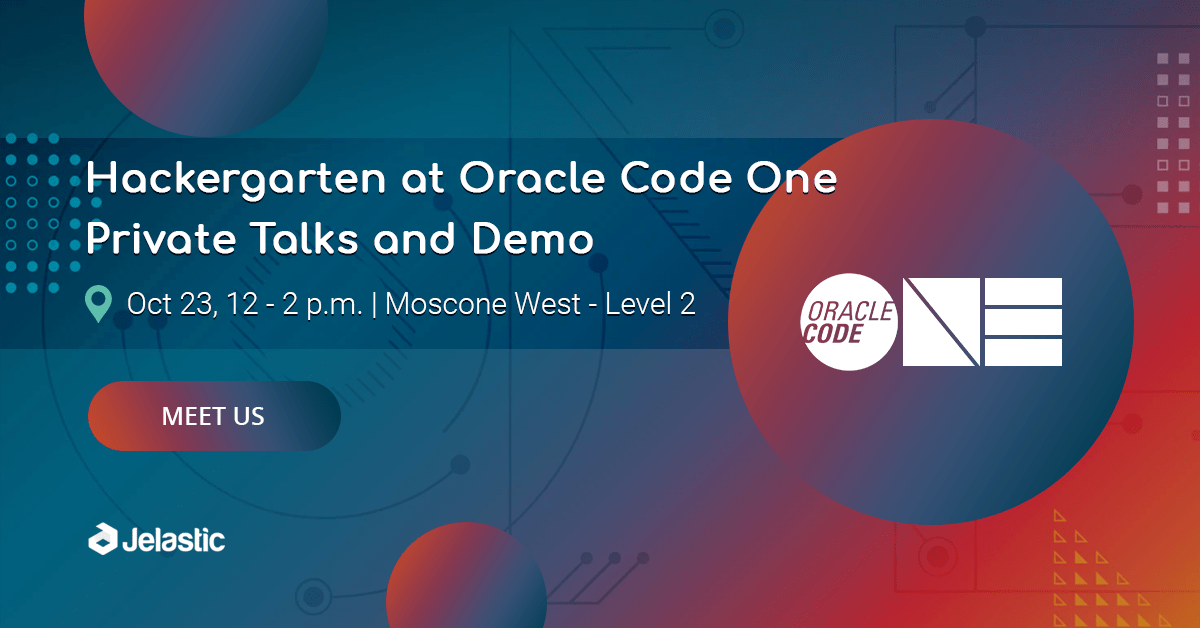Java Elastic PaaS at Oracle Code One 2018