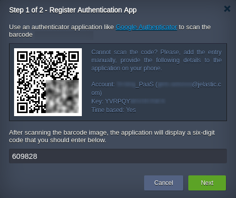 authenticator application