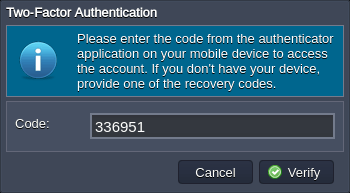 account access verification