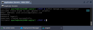 deploy wagtail python