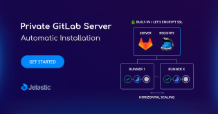 Private GitLab Server Automatic Installation with Jelastic PaaS