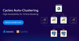 Cyclos Cluster Automatic Installation for High Availability of Online Banking Systems