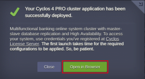 open in browser cyclos