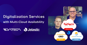 digitalization services with multi-cloud availability