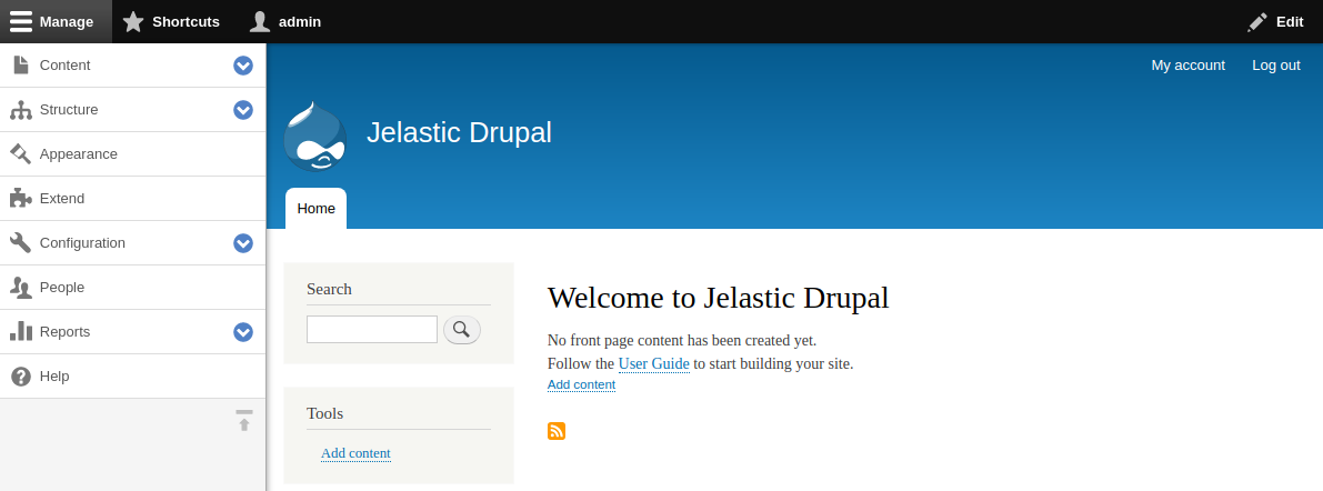 drupal welcome