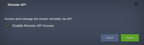 remote api access
