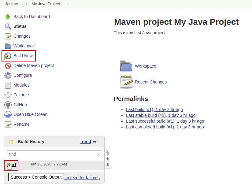 Build Maven Project in Jenkins