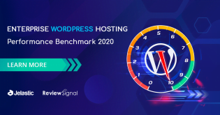 Jelastic Enterprise WordPress Hosting Earned Top Tier in Performance Benchmark 2020 by Review Signal